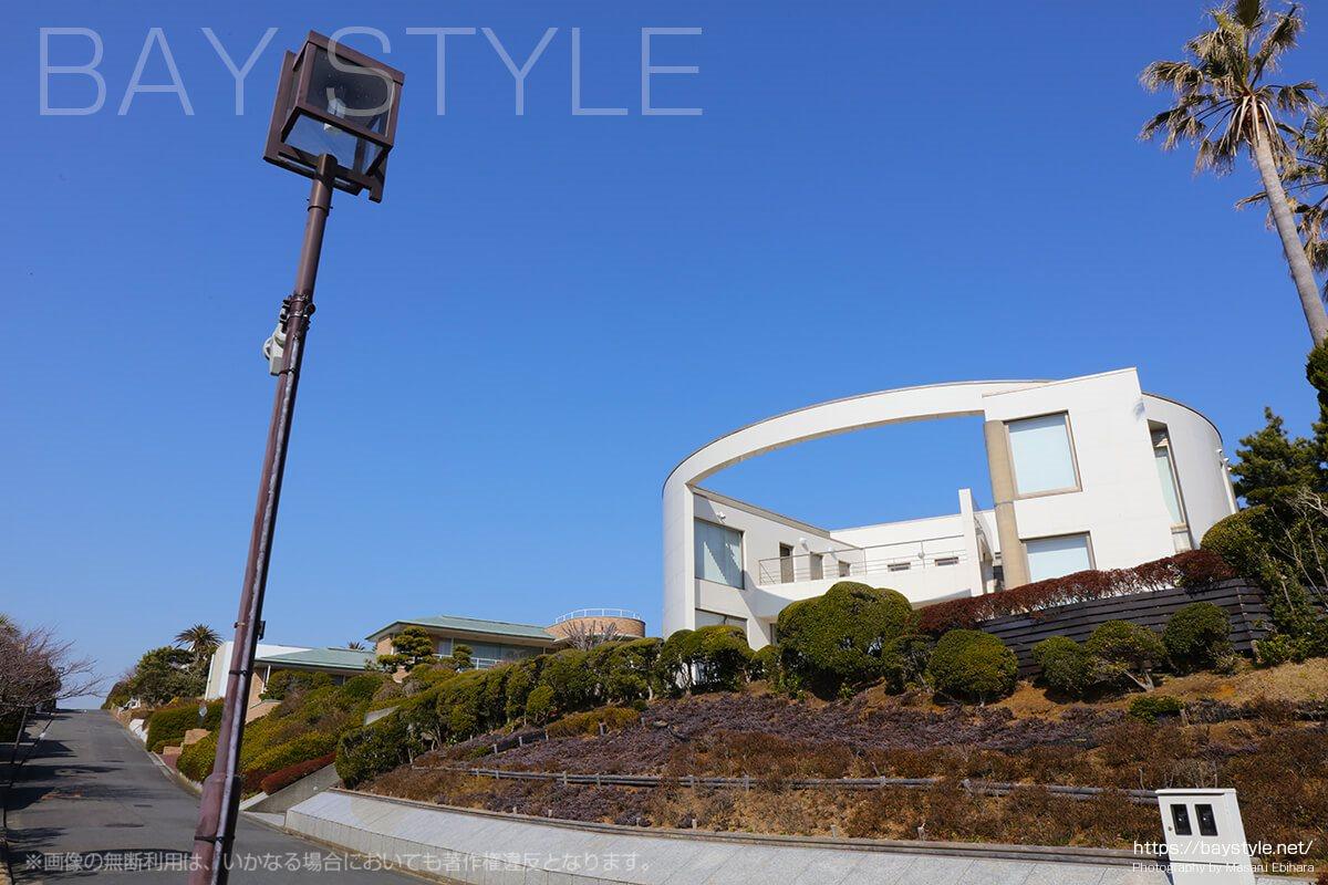 披露山庭園住宅地の特徴