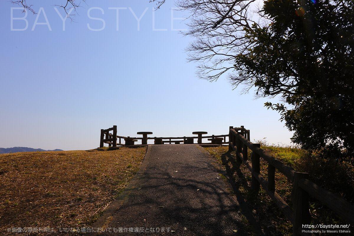 大崎公園の展望台