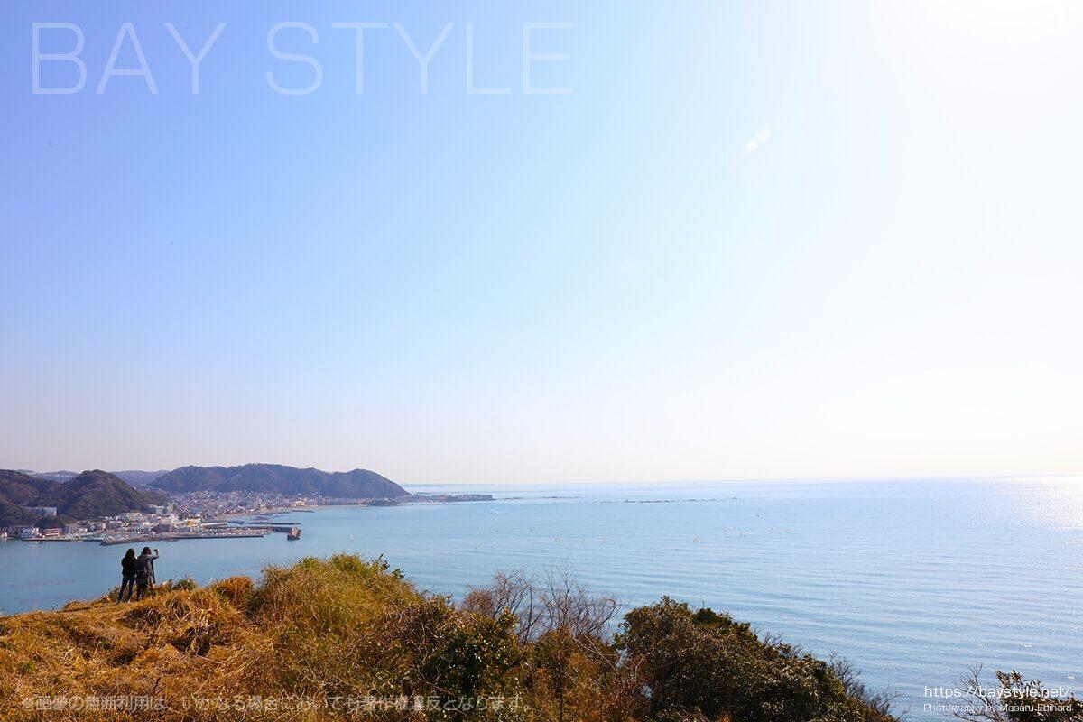 大崎公園から逗子湾側の眺め
