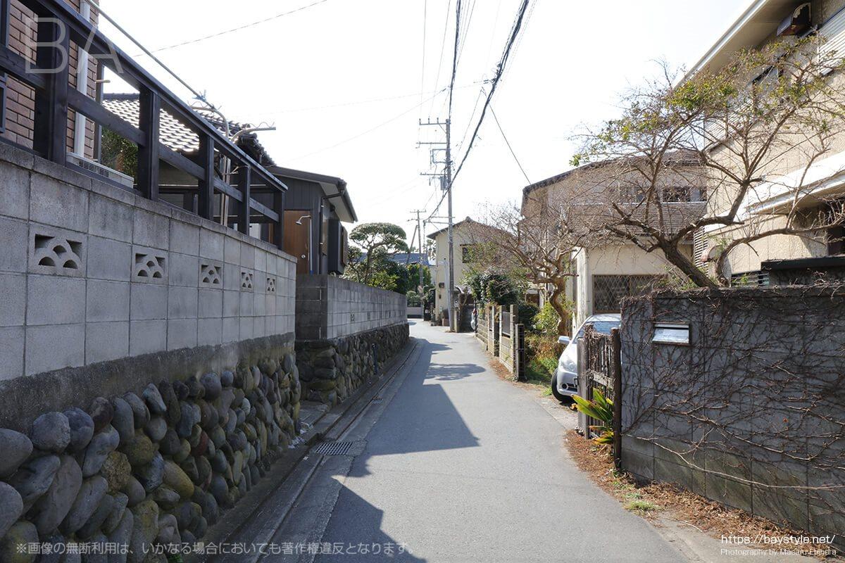 和賀江島付近の住宅街