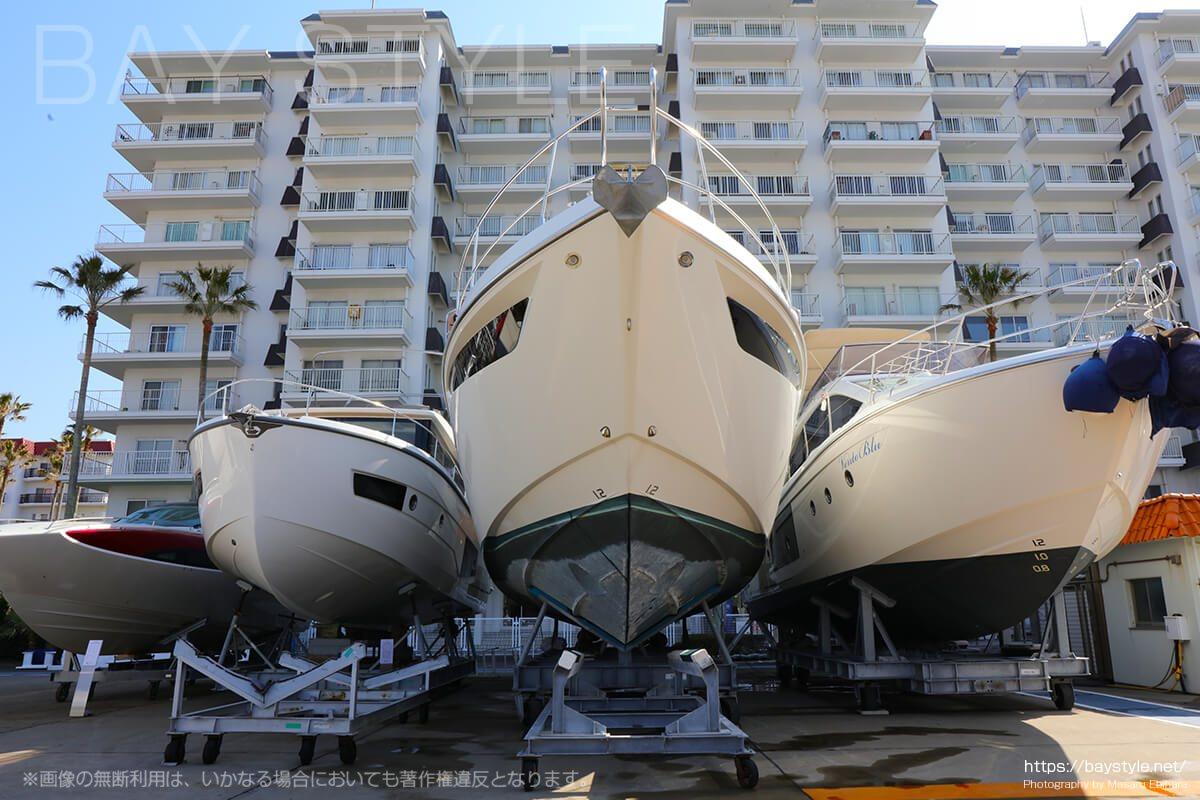 逗子マリーナのヨットハーバー
