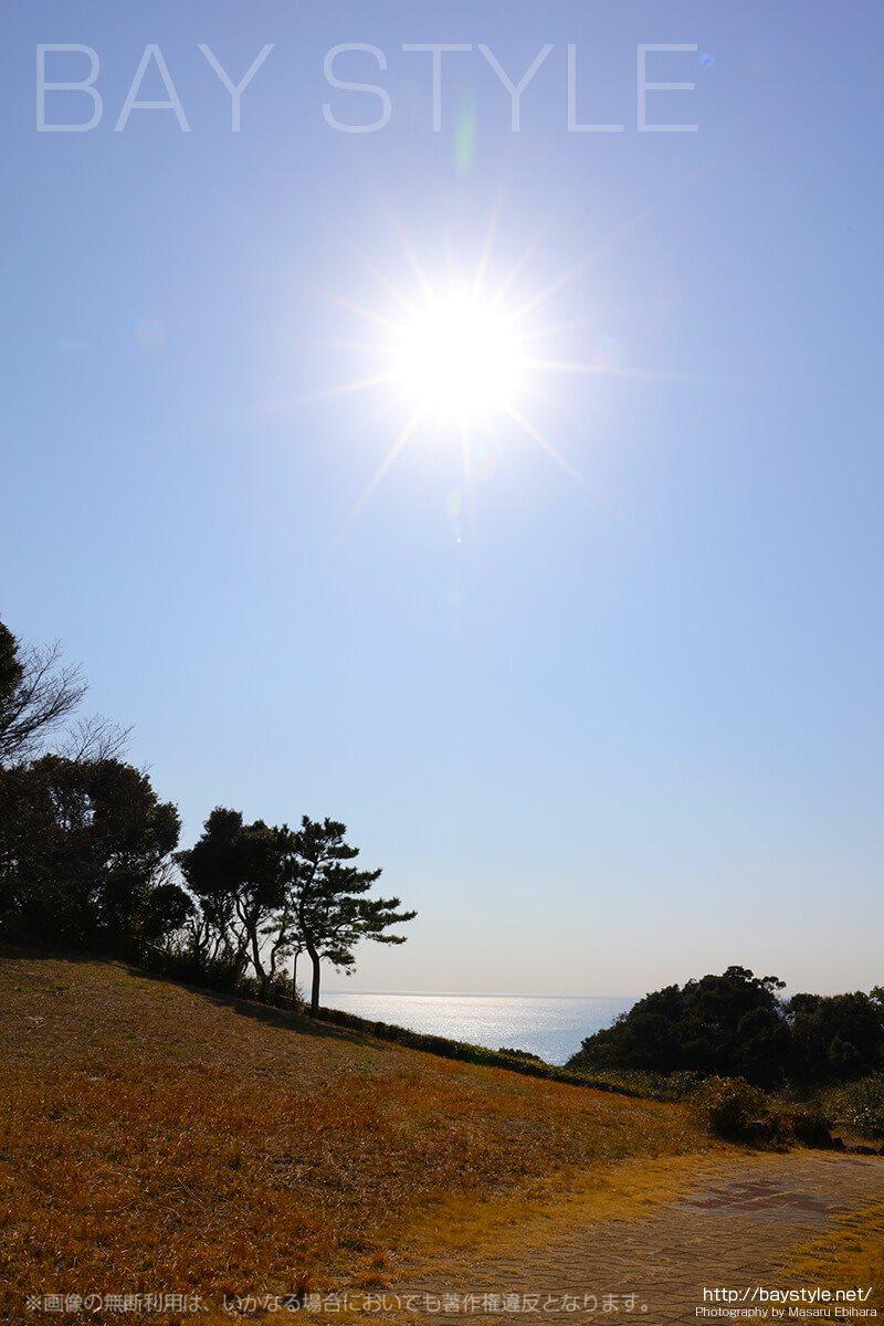 披露山公園から大崎公園へと向う途中の絶景