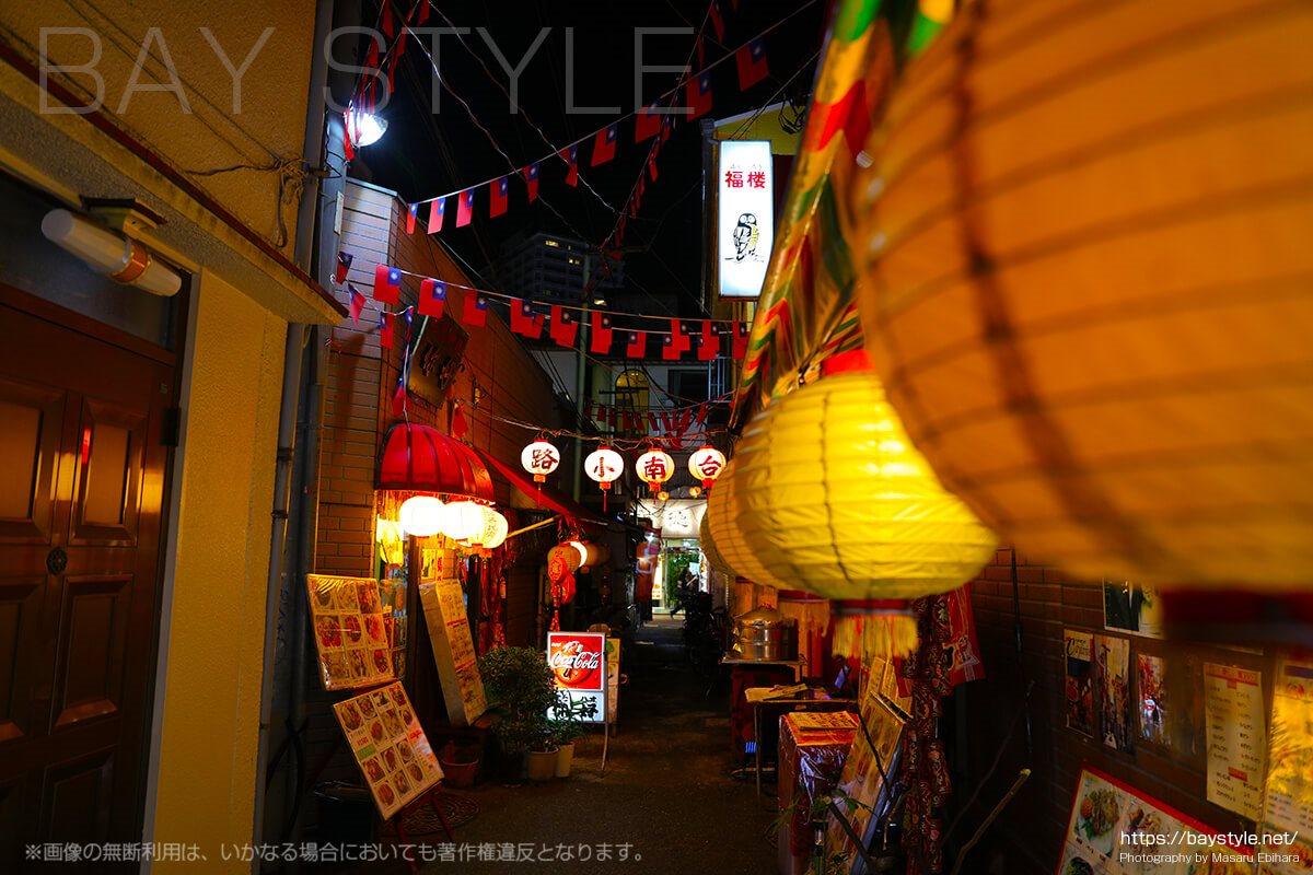 横浜中華街の夜景で有名なスポット