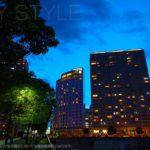 ホテルビスタプレミオ横浜の夕暮れ