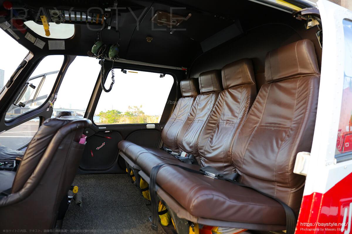 リア側の席