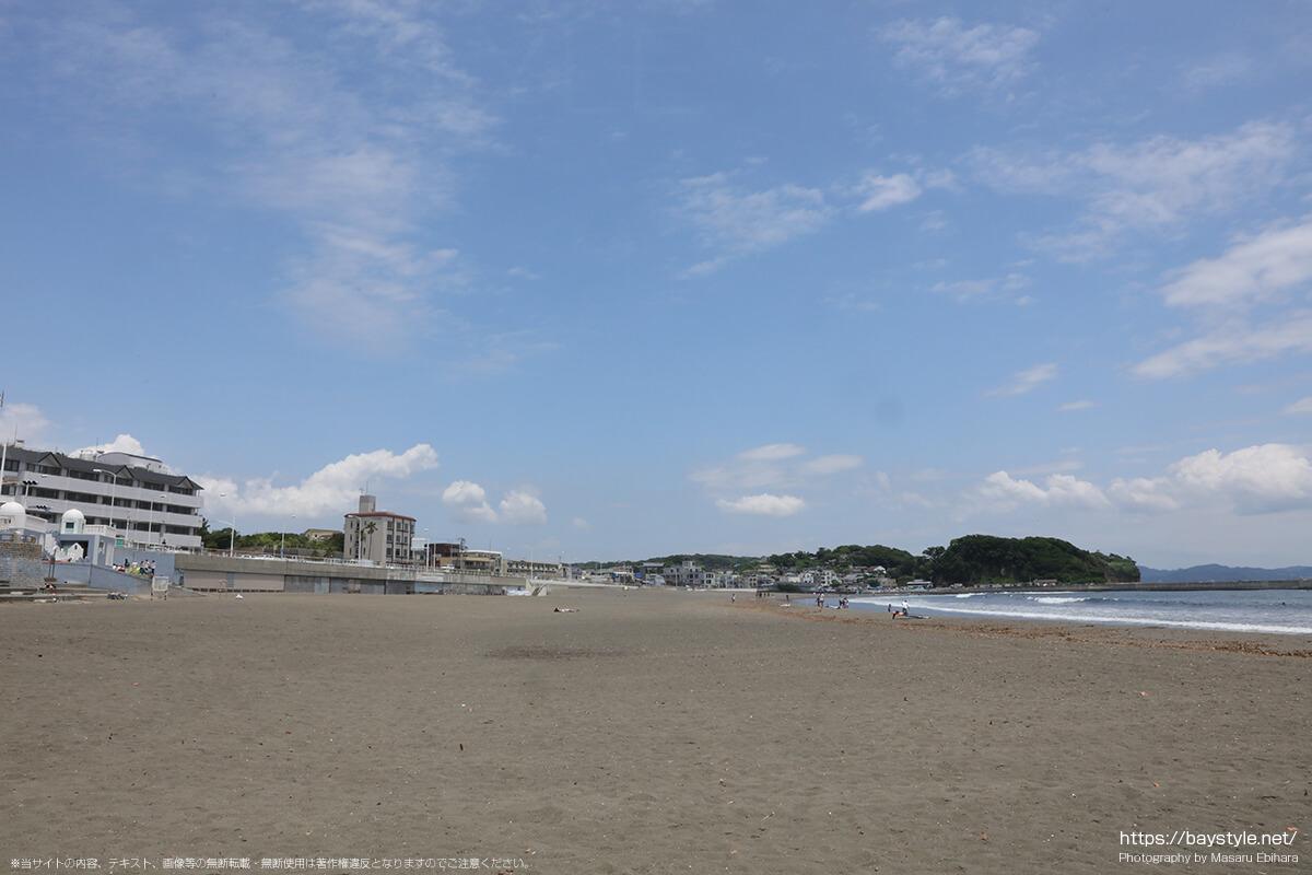 片瀬東浜海水浴場、2020年の様子