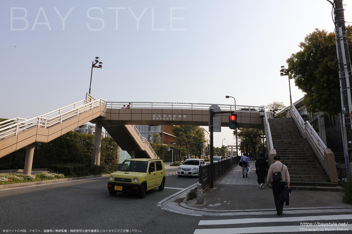 由比ヶ浜歩道橋