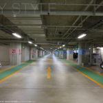 湘南海の家の駐車場