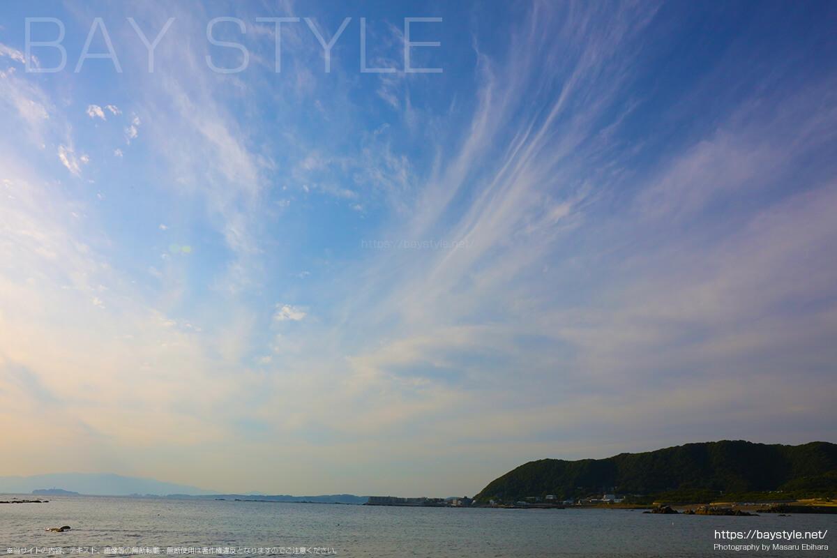 長者ヶ崎海水浴場の岬からの眺め