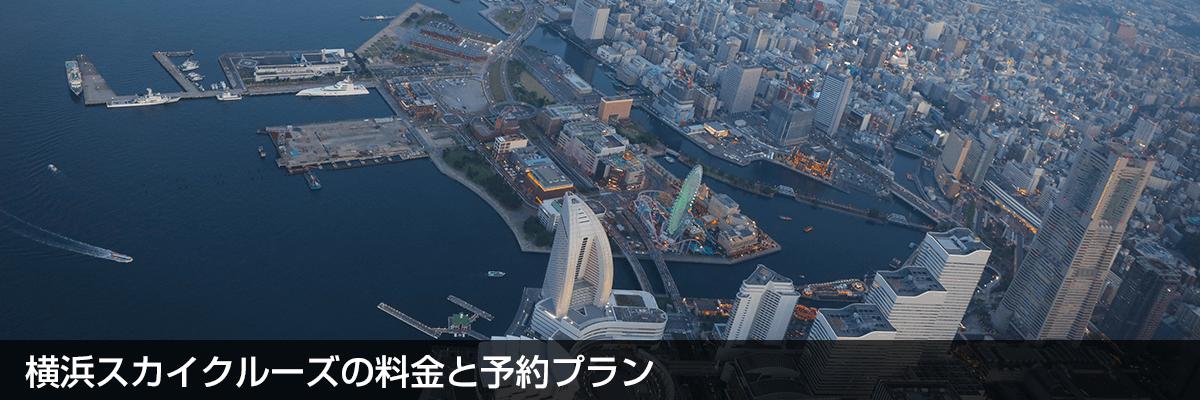 横浜スカイクルーズの料金と予約プラン