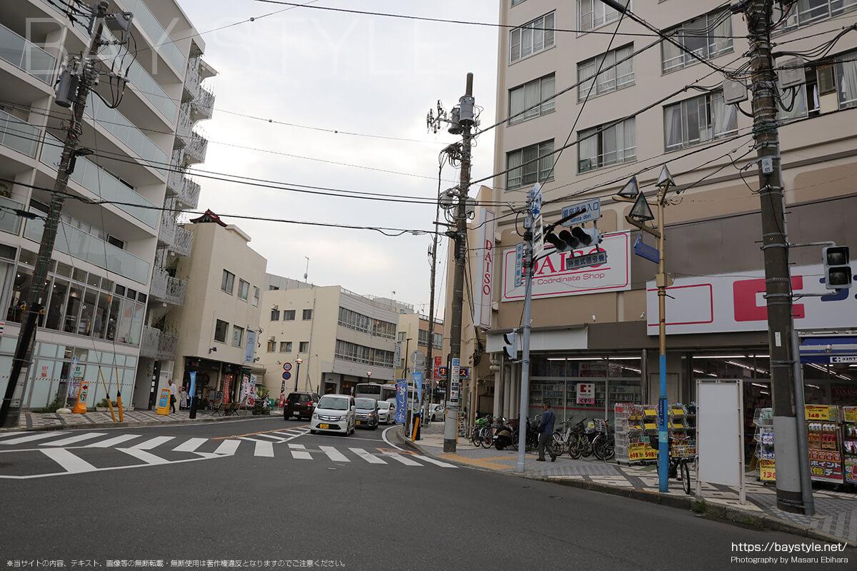 銀座通り入口の信号