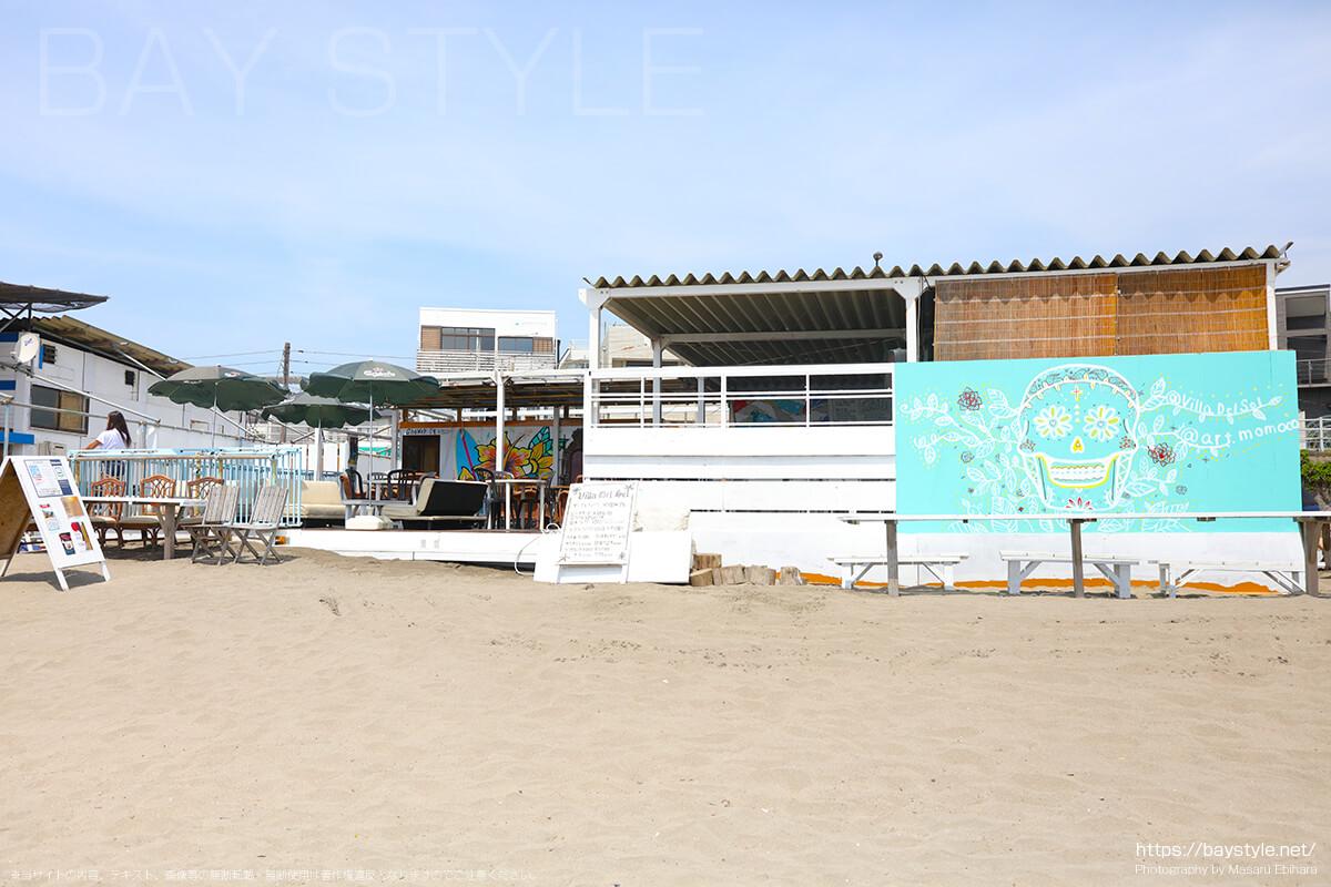 ビラデルソル、材木座海水浴場海の家