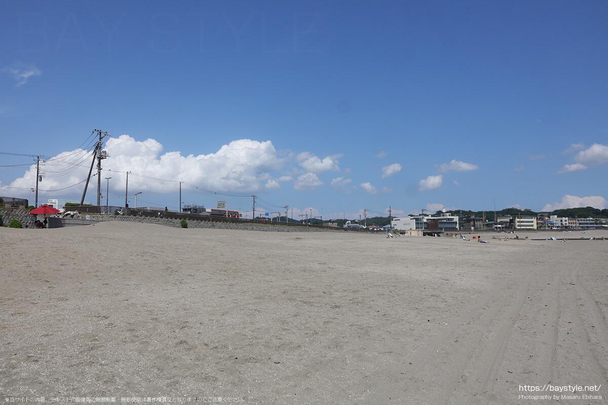 由比ヶ浜海水浴場、2020年の様子