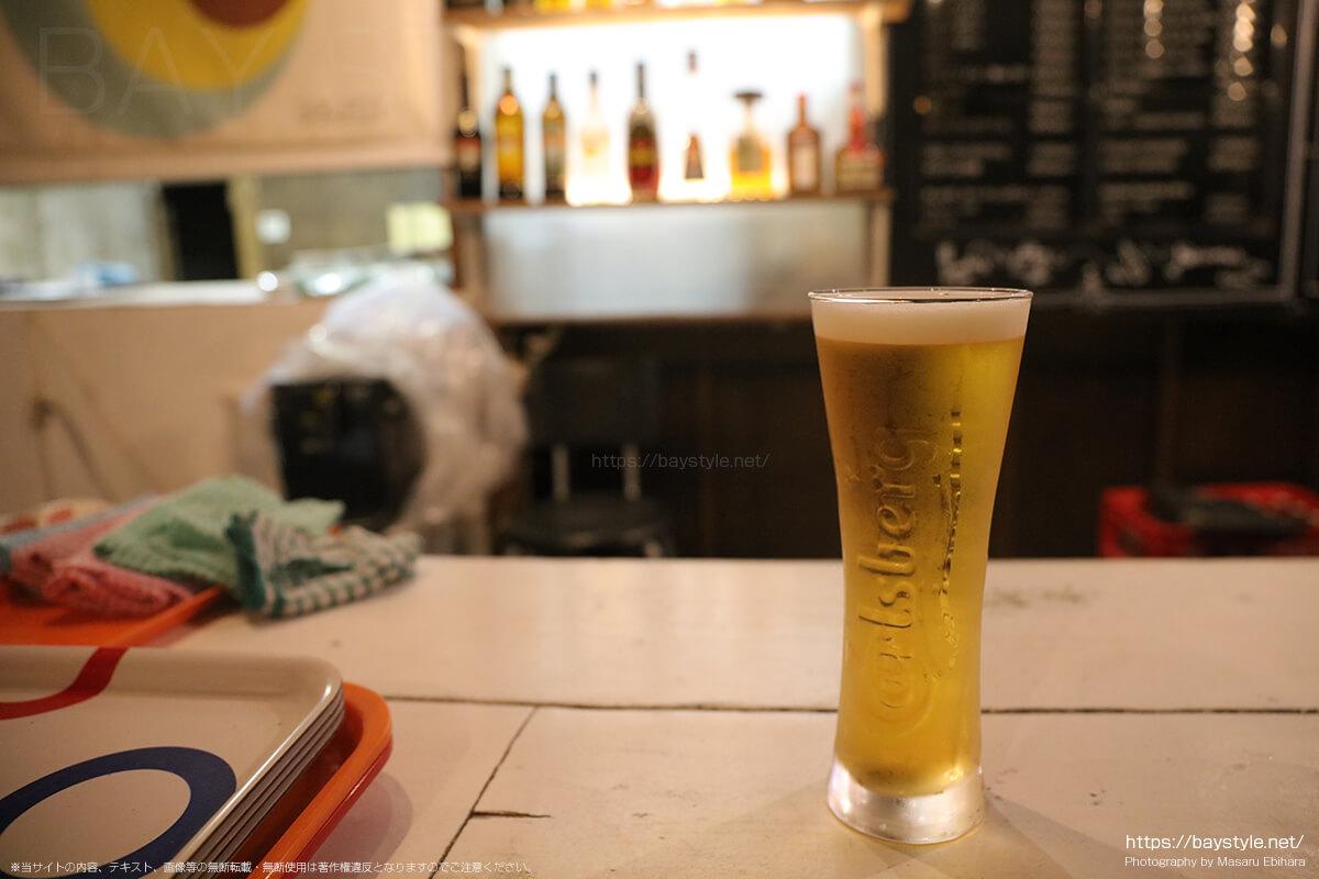 LAH(ラー)で注文した生ビール