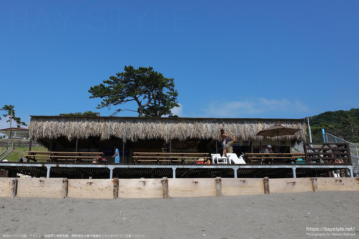 TST Hayama(ティーエスティーハヤマ)、大浜海岸海水浴場の海の家