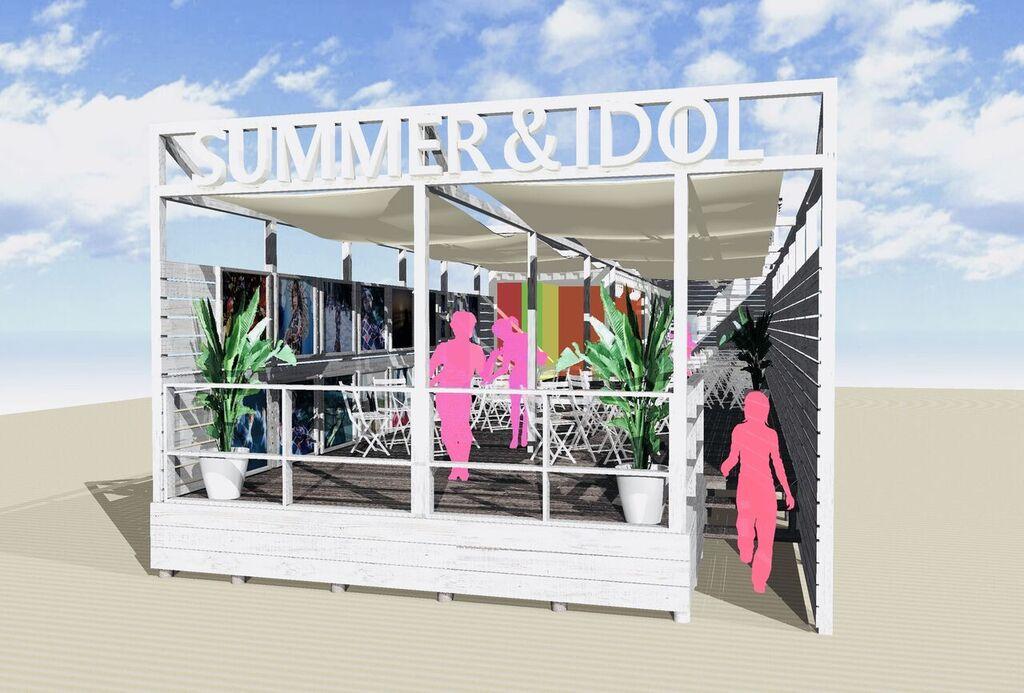 ビーチカフェ「SUMMER&IDOL」