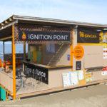 IGNITION POINT(イグニションポイント)、片瀬西浜海水浴場の海の家
