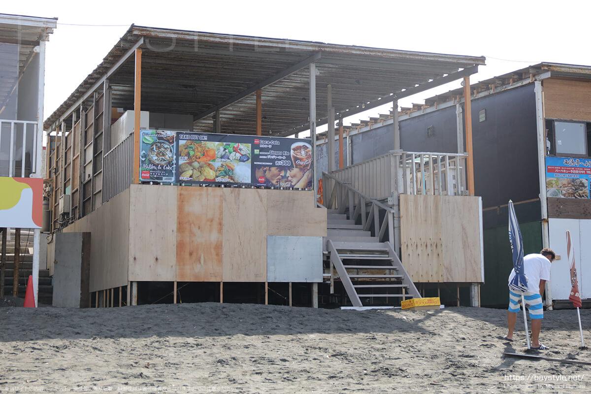 IGNITION POINT(イグニションポイント)ビーチ側の入口