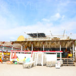 OASIS LATINO、逗子海水浴場の海の家
