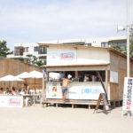 potatis、逗子海水浴場の海の家