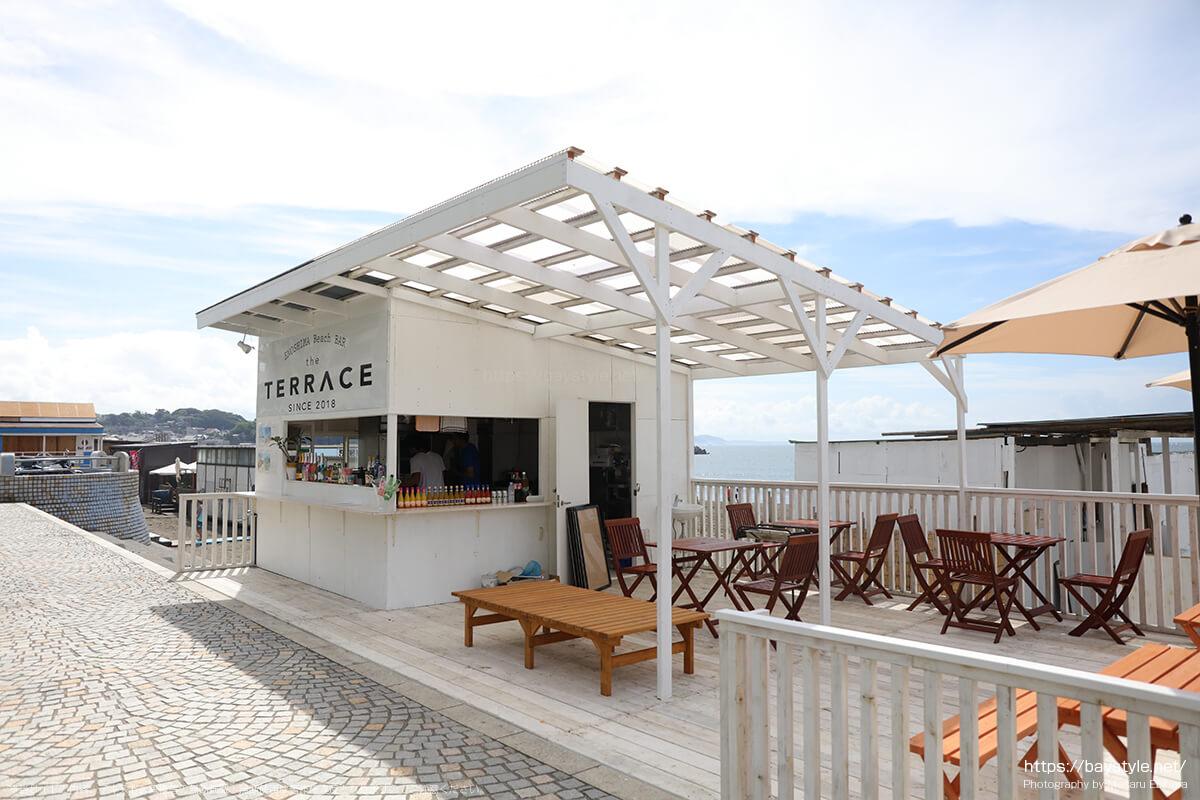 TERRACE、片瀬東浜海水浴場のカフェバー
