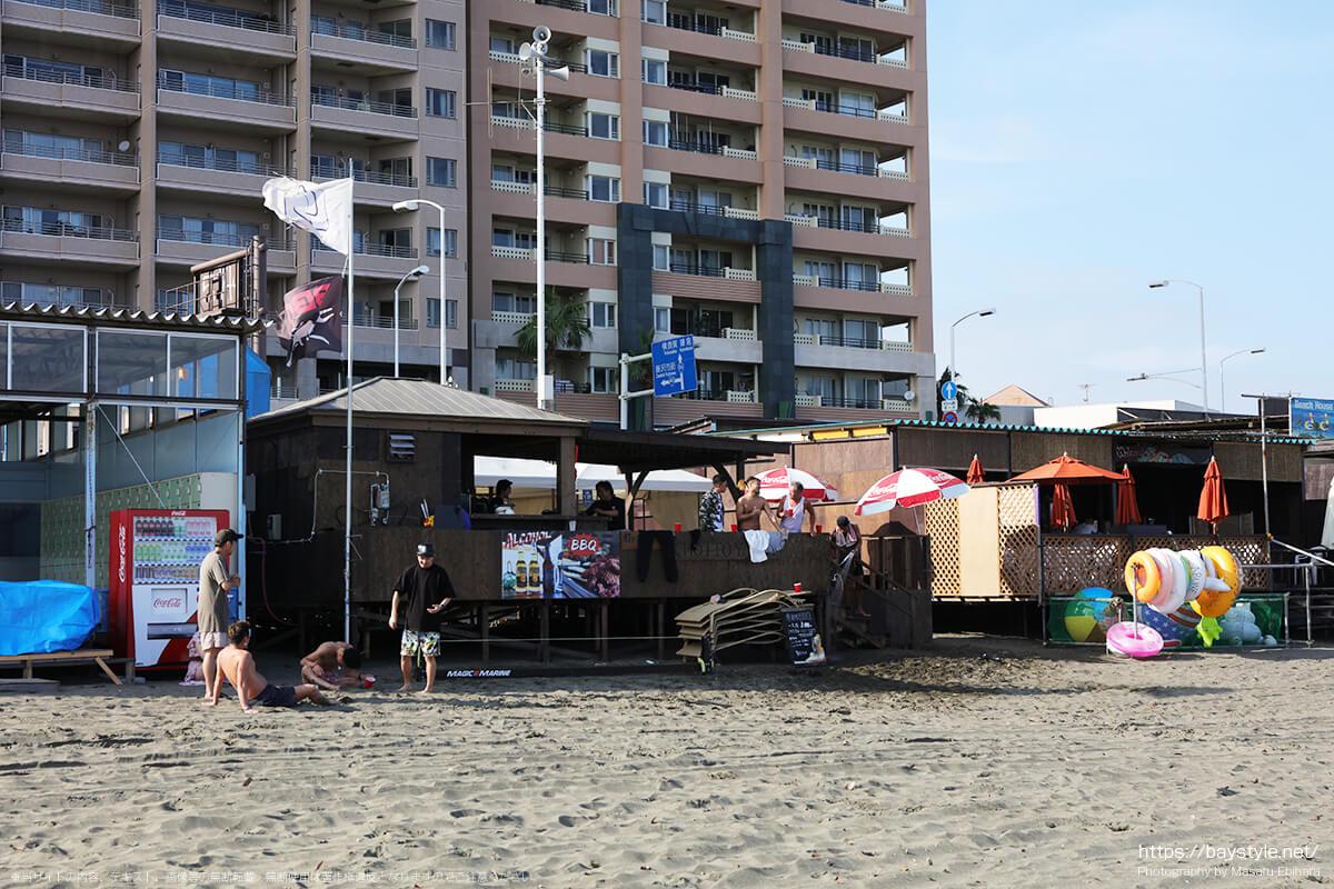 CHOTTO YACHT、片瀬東浜海水浴場の海の家