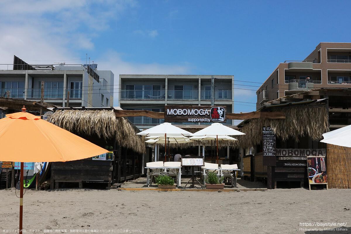 MOBOMOGA(モボモガ)、逗子海水浴場の海の家