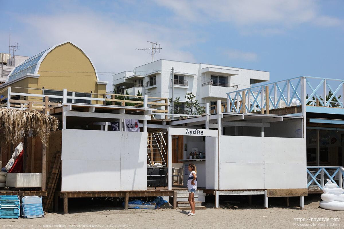 Appeles(アペレース)、逗子海水浴場の海の家