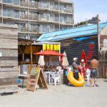 ちゃわばる浜焼き、逗子海水浴場の海の家