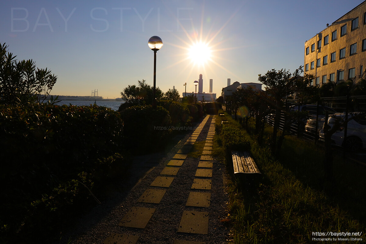 海芝公園の入口