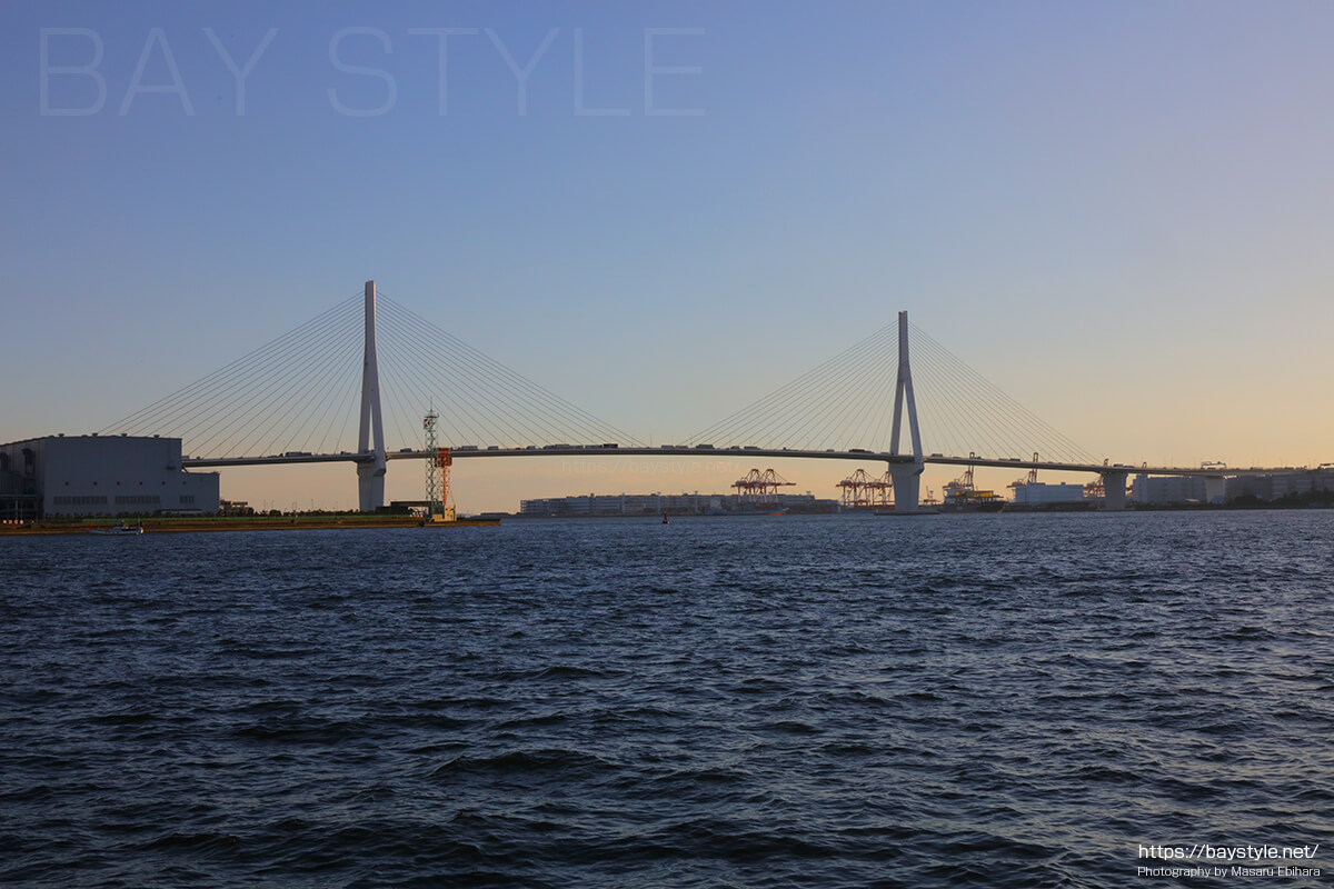 海芝公園から見た鶴見つばさ橋