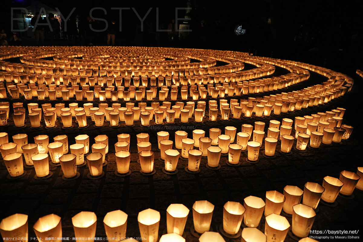長谷寺の万灯祈願会(まんとうきがんえ)