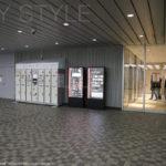 新横浜駅ビル1階(ホテルアソシア新横浜側エレベーターホール脇)のコインロッカー