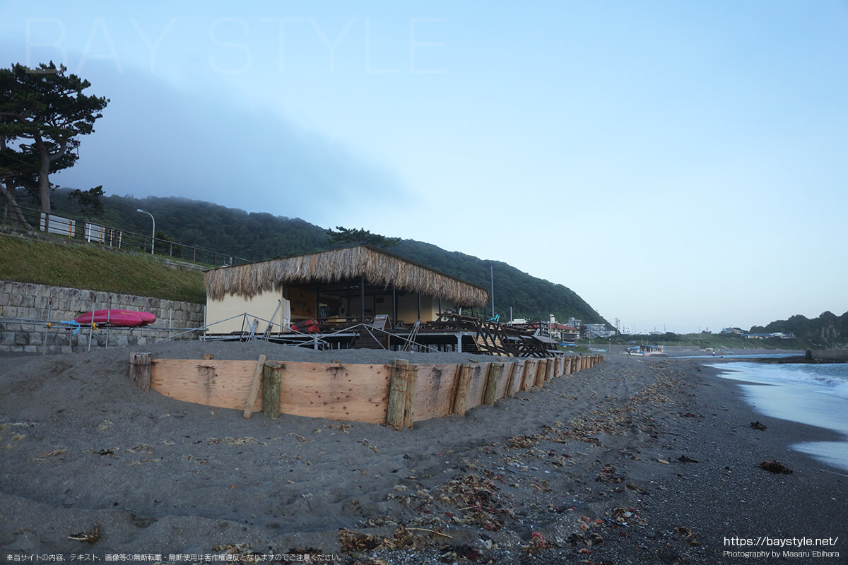 長者ヶ崎、大浜海岸海水浴場海開き