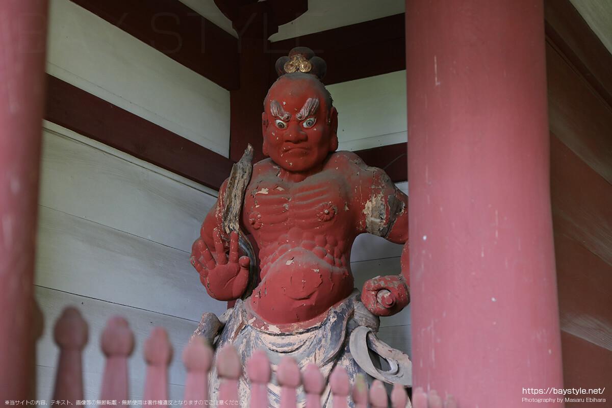 妙法寺の仁王像