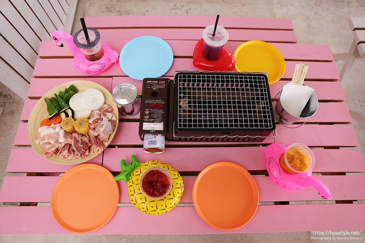 Flamingo beach club(フラミンゴビーチクラブ)フード