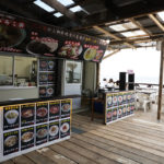 肉たらし、鎌倉由比ヶ浜海の家