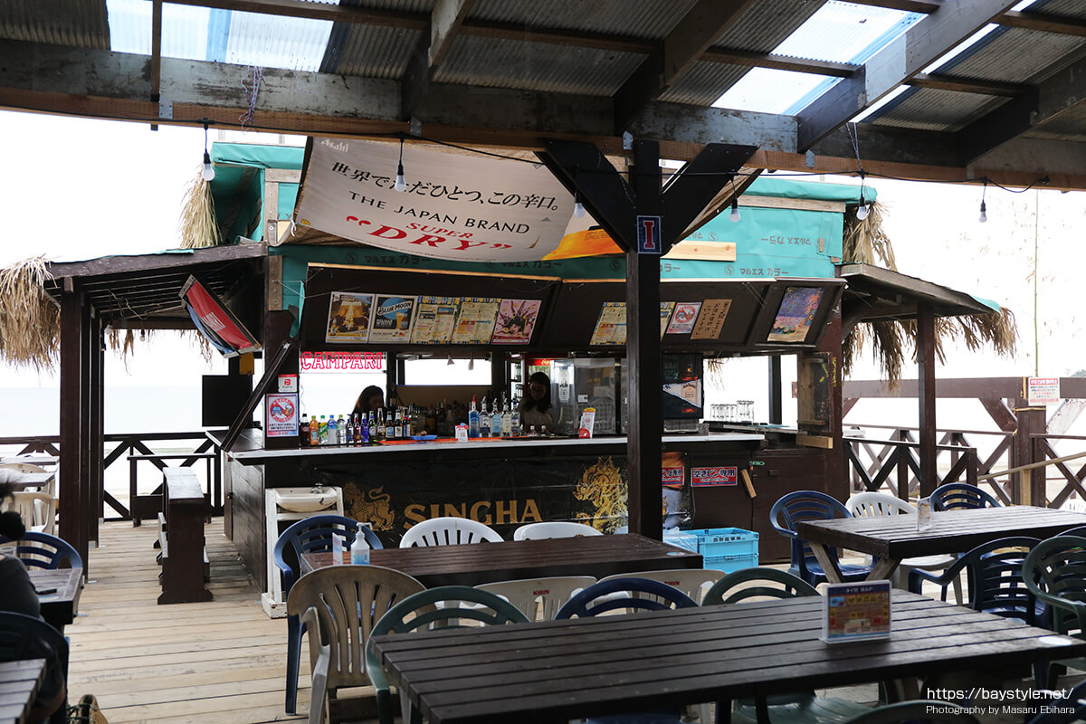 BAR(タイ村内)、鎌倉由比ヶ浜海の家