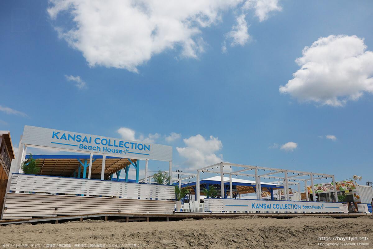 KANSAI COLLECTION Beach House(関西コレクションビーチハウス)、鎌倉由比ヶ浜海の家