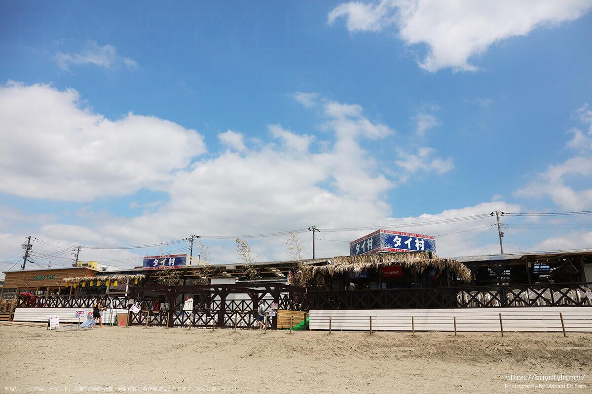 タイ村、鎌倉由比ヶ浜海の家