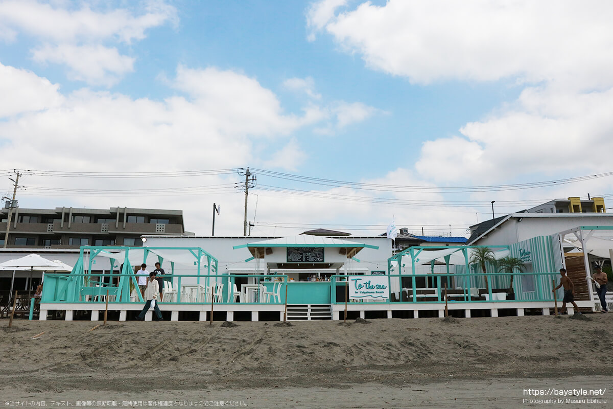 To the sea for Yuigahama Beach(トゥーザシーフォー由比ヶ浜ビーチ)、鎌倉由比ヶ浜海の家