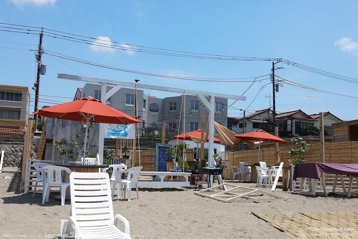 CUTE Bonsai Bar、材木座海水浴場海の家