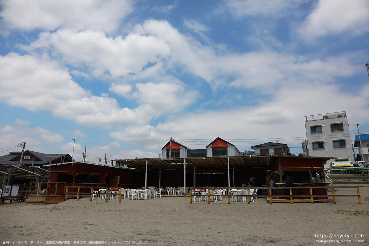 LAFESTA(ラフェスタ)、Bom Ba(ボンバ)、逗子海水浴場の海の家