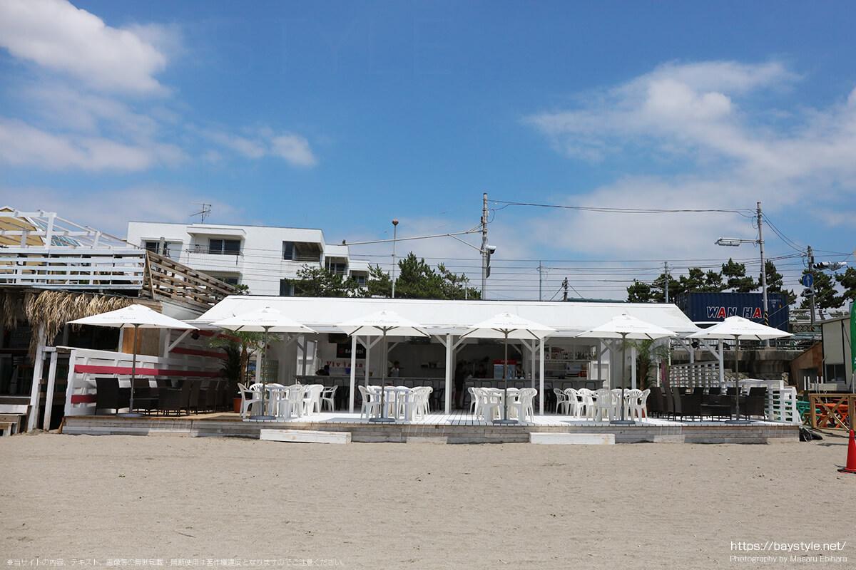 ヴィヴィアナリゾートクラブ、逗子海水浴場の海の家