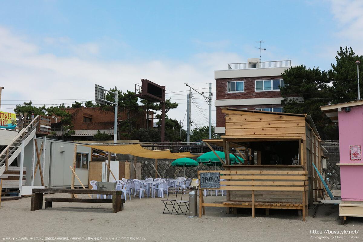 IROHA(イロハ)、逗子海水浴場の海の家
