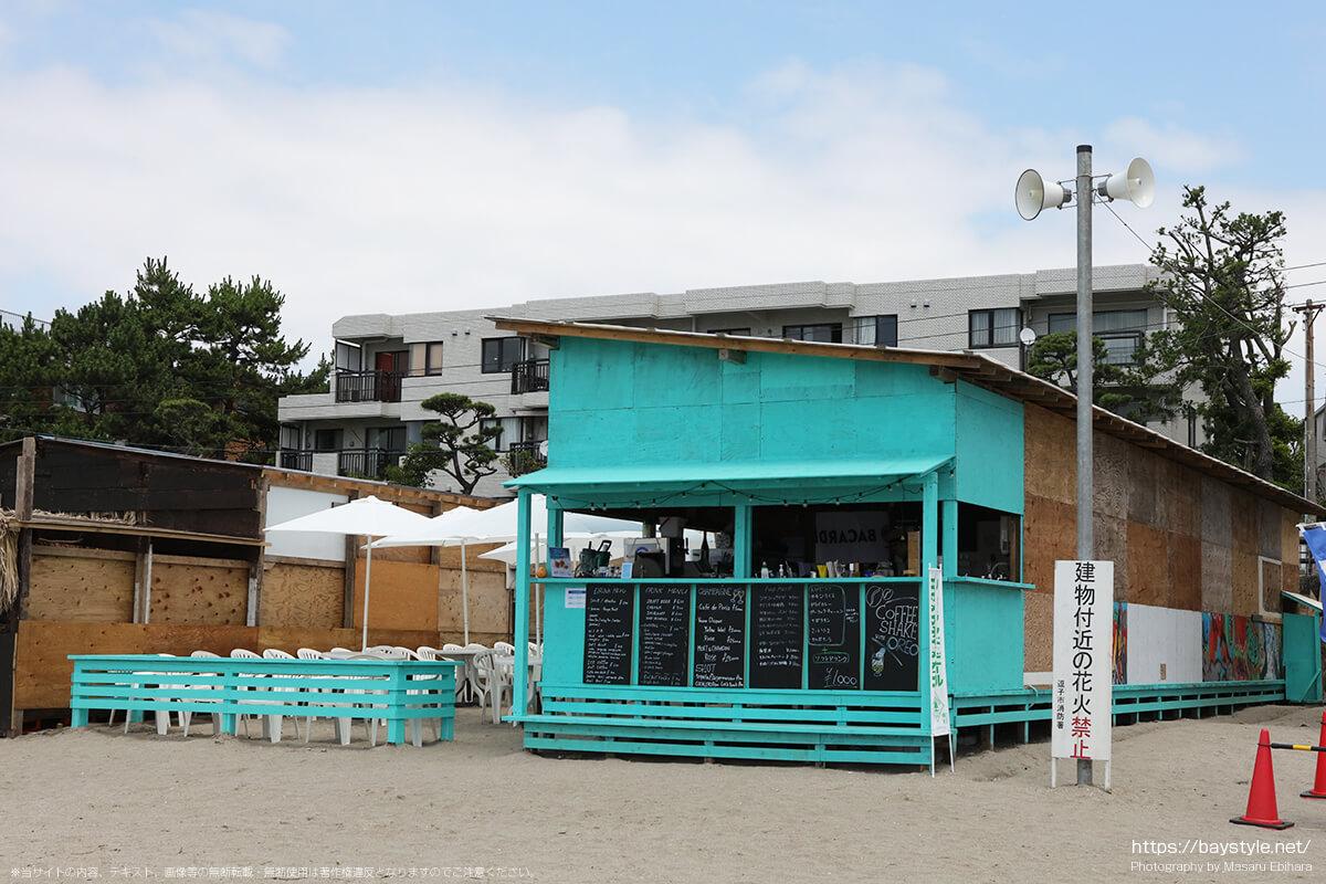 TOMOS、逗子海水浴場の海の家