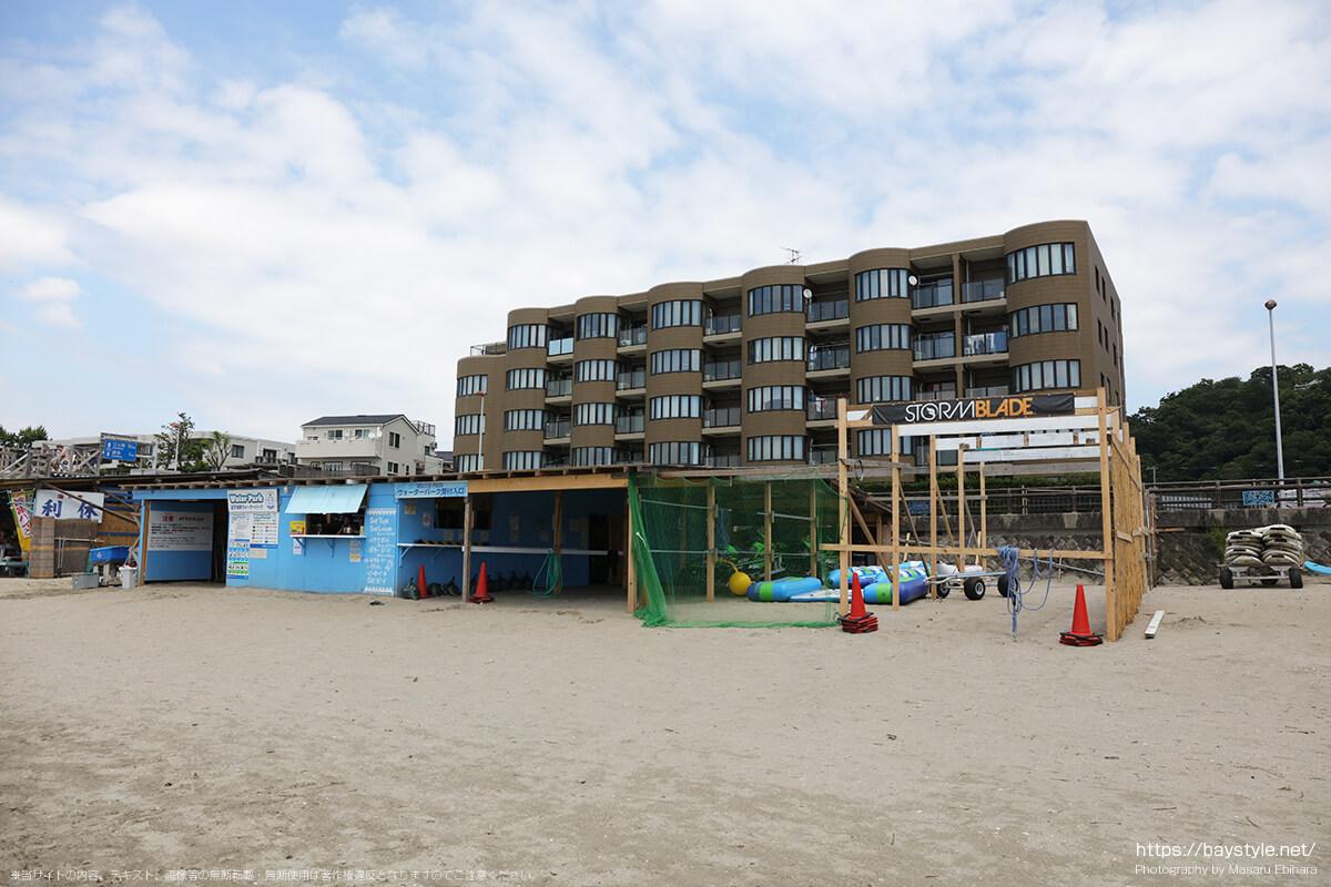 逗子海岸ボート部会、逗子海水浴場の海の家