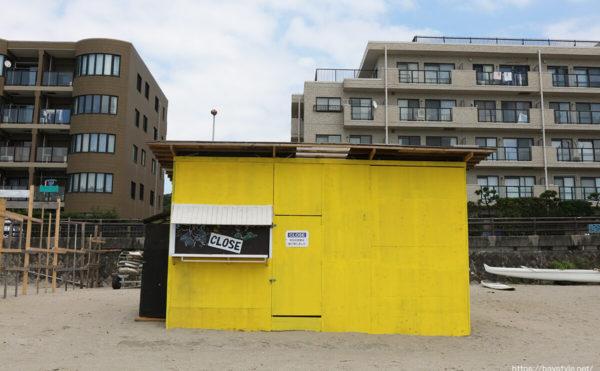 ウィンドプランニング(東)、逗子海水浴場の海の家
