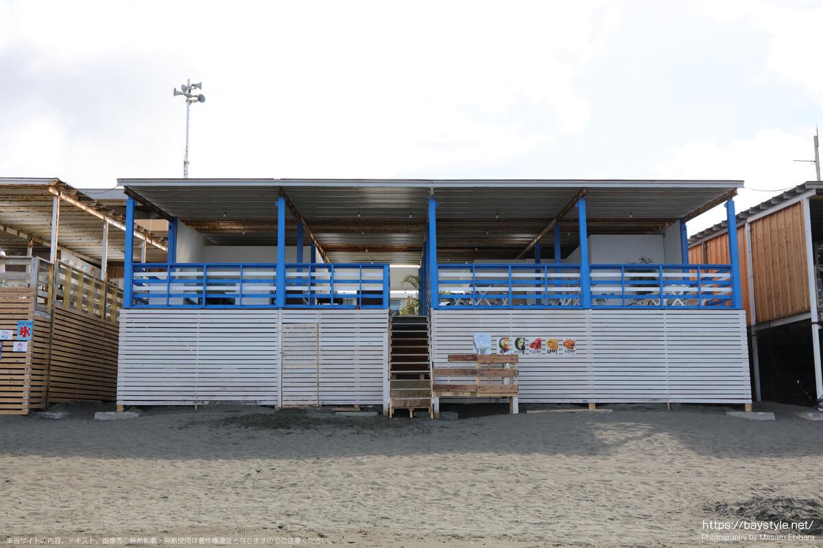 Ao(アオ)(片瀬西浜海水浴場の海の家:2021年7月21日撮影)