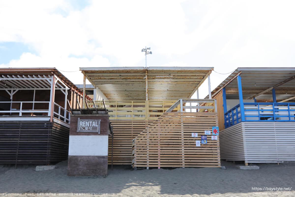 ケイスケ(片瀬西浜海水浴場の海の家:2021年7月21日撮影)